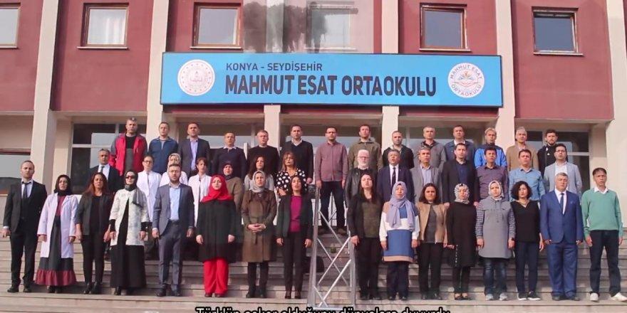 Seydişehir'den Mehmetçiğe marşlı destek