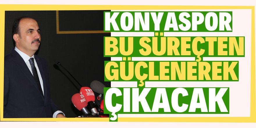 Altay'dan Konyaspor taraftarına destek mesajı