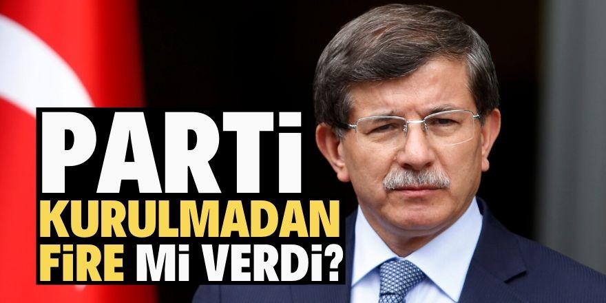 Davutoğlu'na kötü haber!