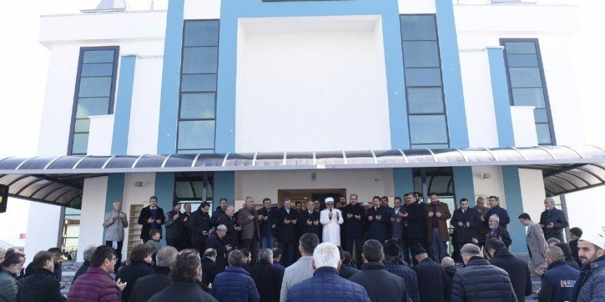 Ahmet Derebağ Camisi'nin açılışı gerçekleştirildi