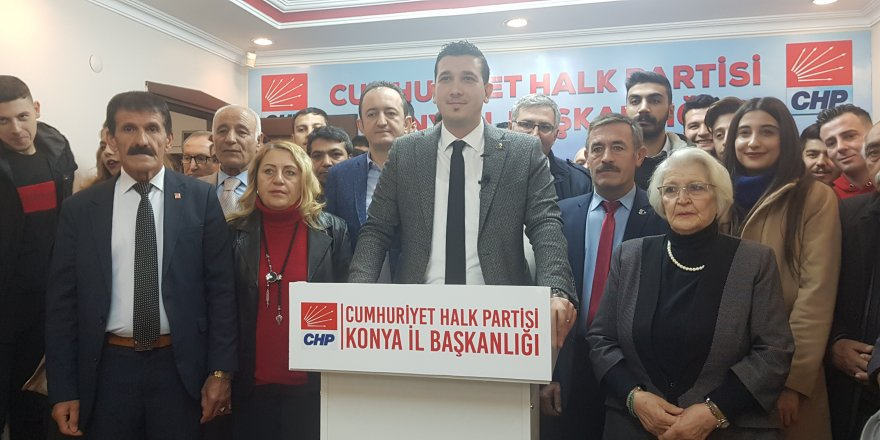 Çobanoğlu, CHP Selçuklu'ya yeniden aday