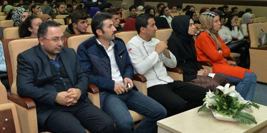 KMÜ öğrencilerine iş sağlığı eğitimi