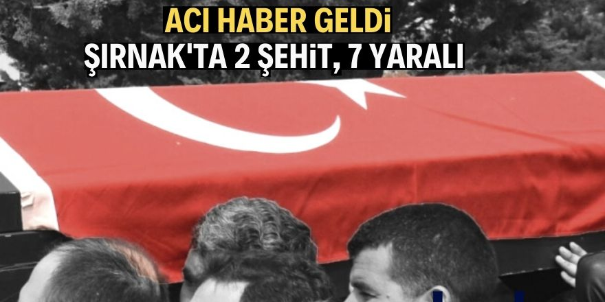 Şırnak'ta EYP müdahalesinde patlama
