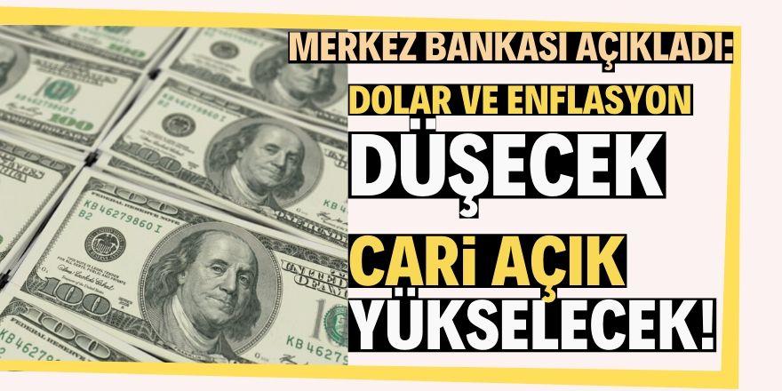 Cari açık yükselecek, enflasyon düşecek!