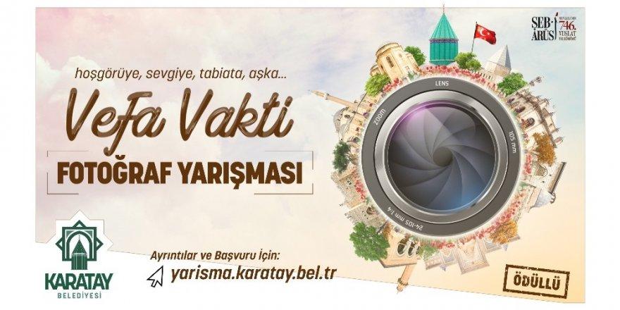 """Karatay Belediyesinden """"Vefa"""" temalı fotoğraf yarışması"""