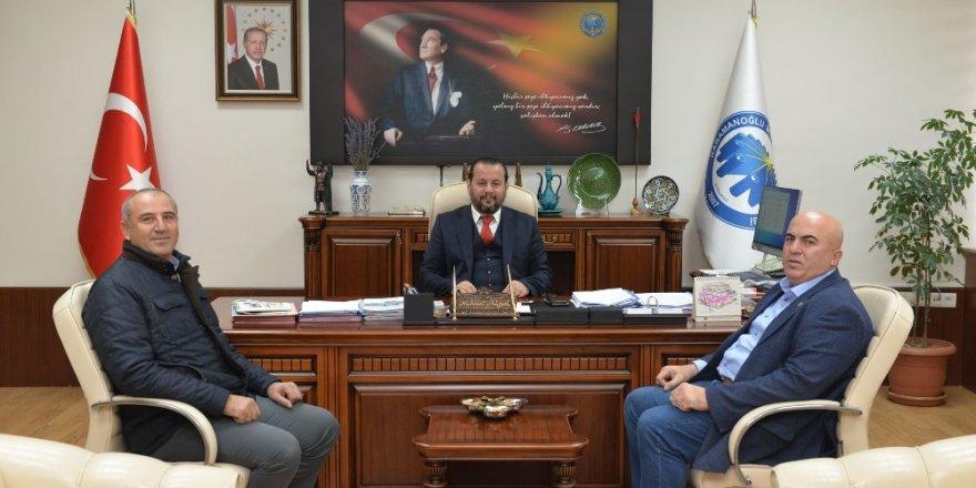Rektör Akgül'e ziraat odası başkanından ziyaret