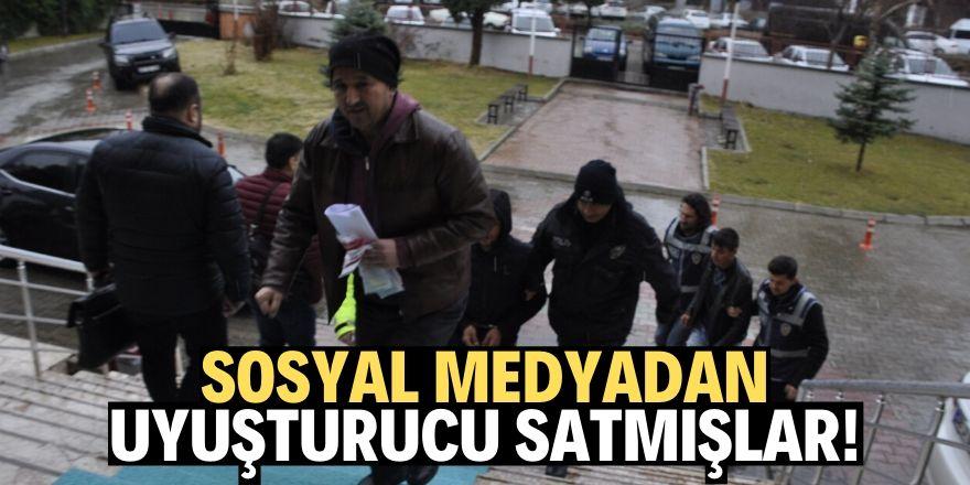 Sosyal medya üzerinden uyuşturucu satan kardeşler tutuklandı