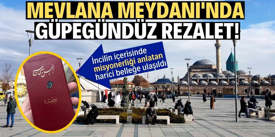 Konya'da misyoner rezaleti!