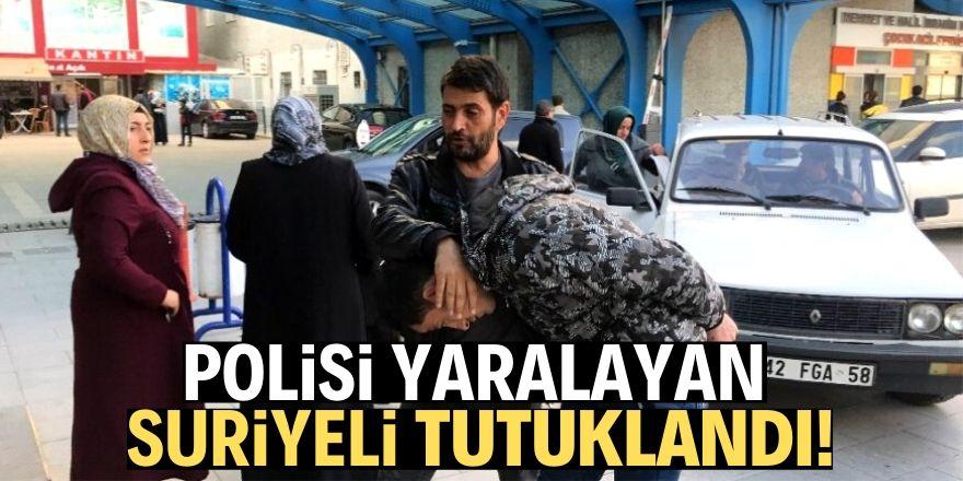 Polisi yaralayan zanlı cezaevine gönderildi!
