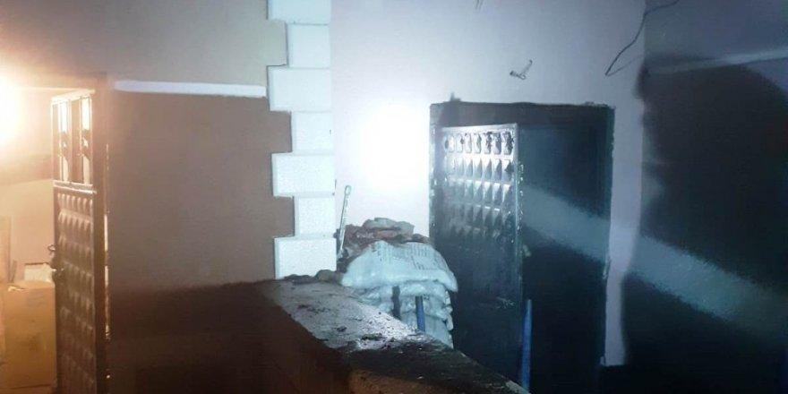 Kulu'da kalorifer dairesinde yangın
