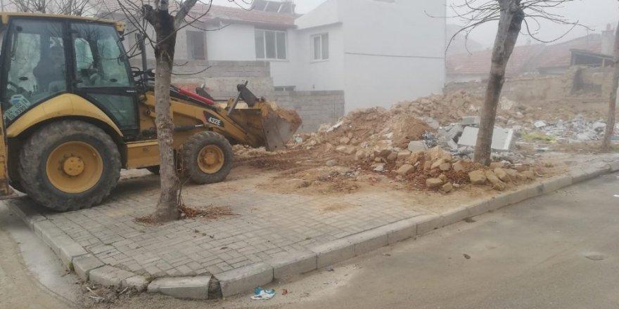 Karaman Belediyesi boş arsaları otoparka çeviriyor