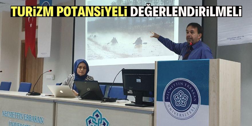 Türkiye'nin zengin bir potansiyeli var