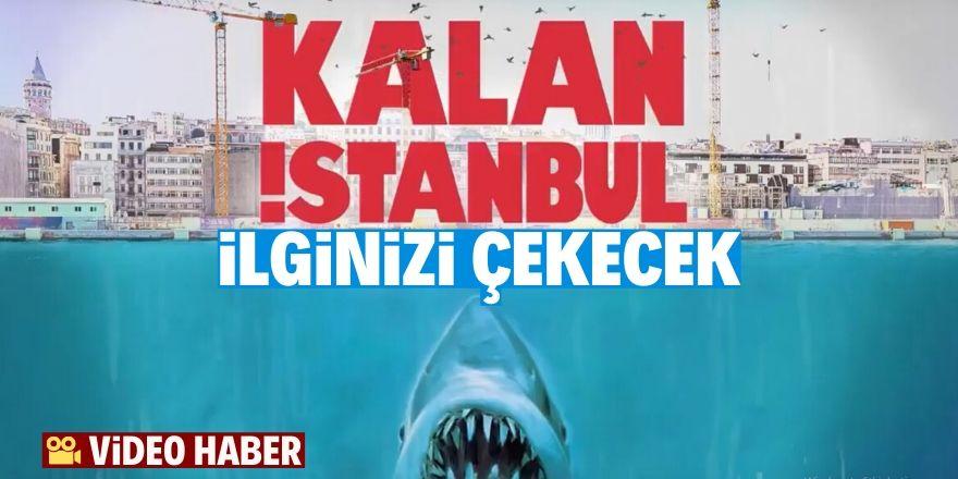 Kanal İstanbul için çarpıcı video çektiler