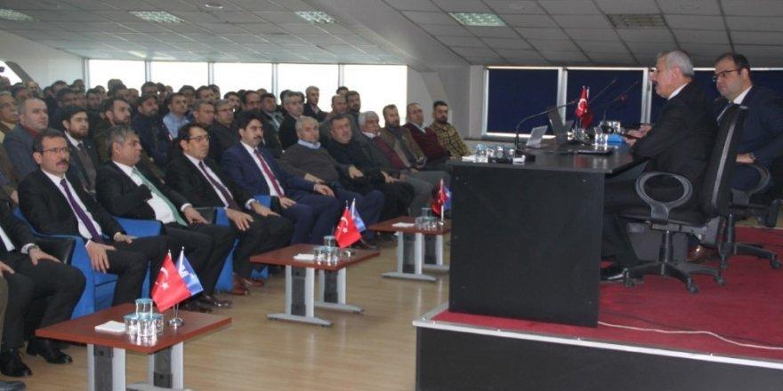 Konya SMMMO'da seminer düzenlendi