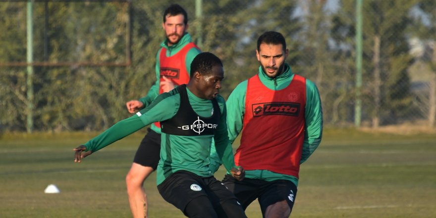 Konyaspor'da  son rötuşlar