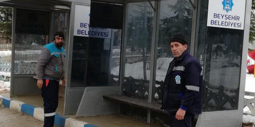 Beyşehir Belediyesi'nden mahallelere bekleme durağı