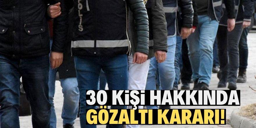 Konya merkezli 20 ilde FETÖ operasyonu!