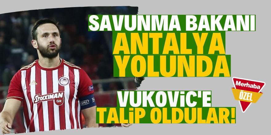 Antalyaspor Vukovic'e talip oldu!