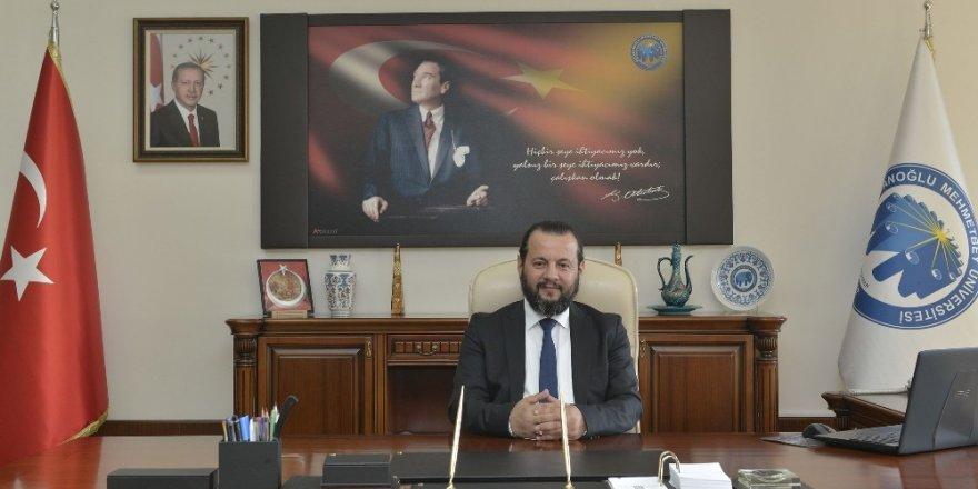 """Rektör Akgül: """"Üniversitemizdeki akademik altyapı güçlenmeye devam ediyor"""""""
