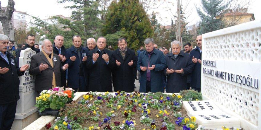 Dr. Ahmet Keleşoğlu mezarı başında anılacak