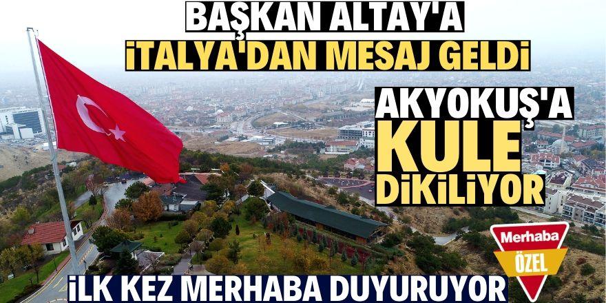 Konya'ya simgesel bir yapı kazandırmak istiyoruz