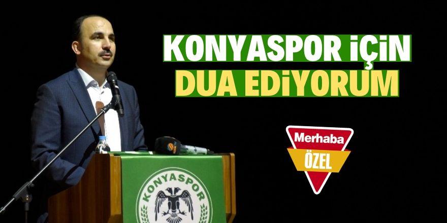 Konyaspor için umutluyum