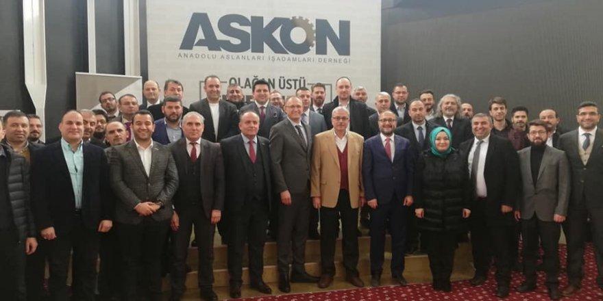 ASKON Konya'da bayrak değişimi
