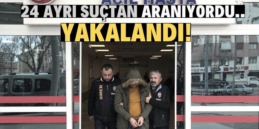 Konya'da aranan cezaevi firarisi yakalandı