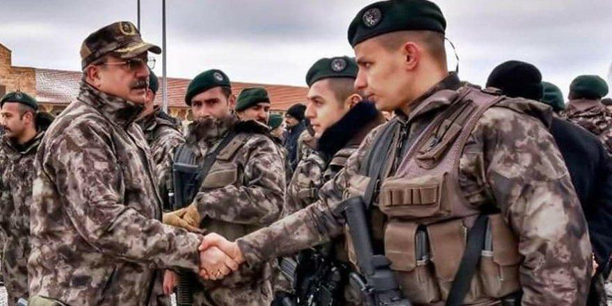 Özel Harekatçılar Suriye'ye uğurlandı