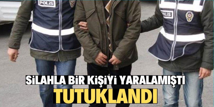Beyşehir'deki silahla yarama olayında tutuklama