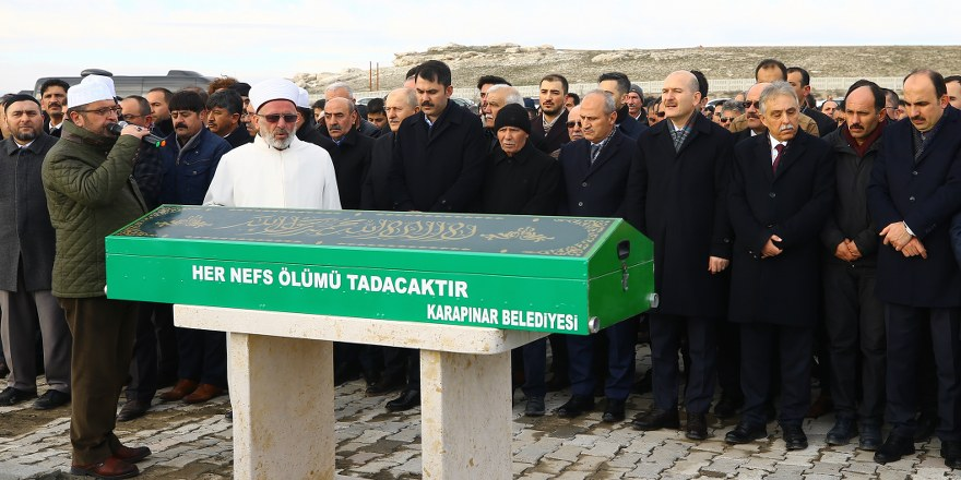 Murat Kurum'un amcası Hanifi Kurum toprağa verildi