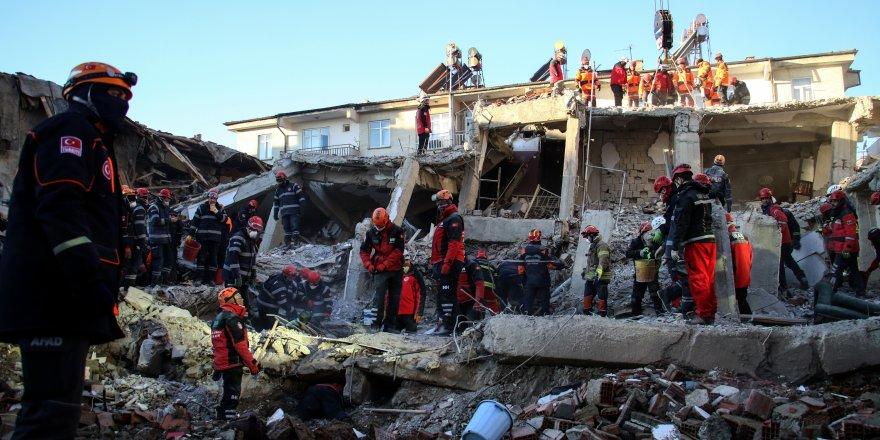 Elazığ'da 31 yıkık ve 654 hasarlı bina tespit edildi