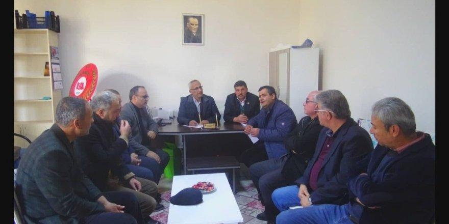 Elazığ için Ermenek'te yardım kampanyası başlatıldı