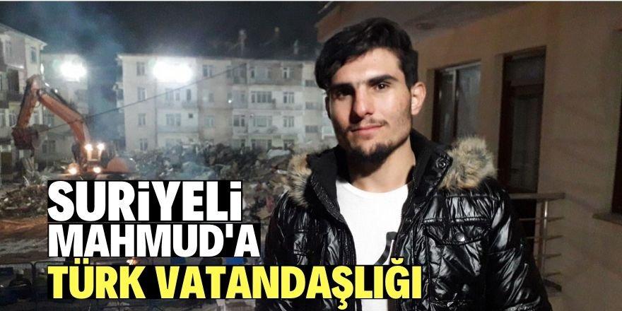 Suriyeli Mahmud El Osman'a Türk vatandaşlığı