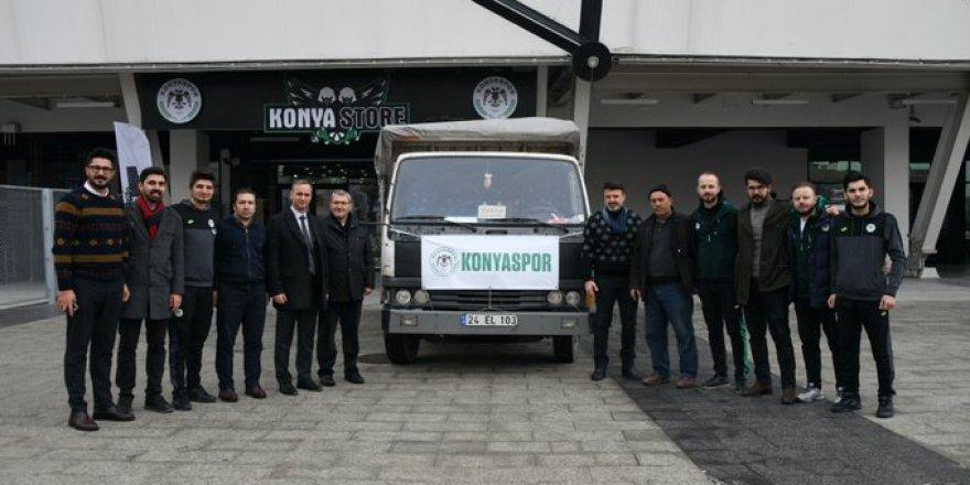 Konyaspor'dan  Elazığ'a destek