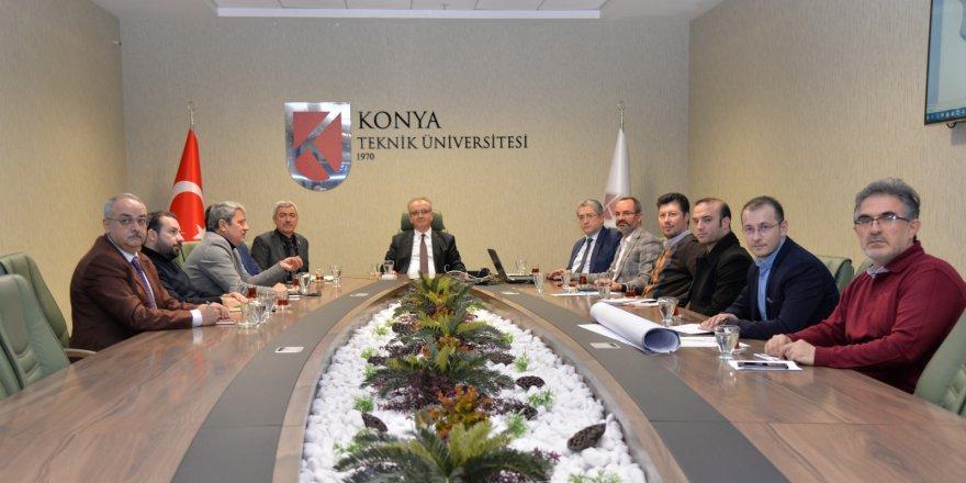 Kampüs Yerleşim Planlama  Komisyonu toplandı