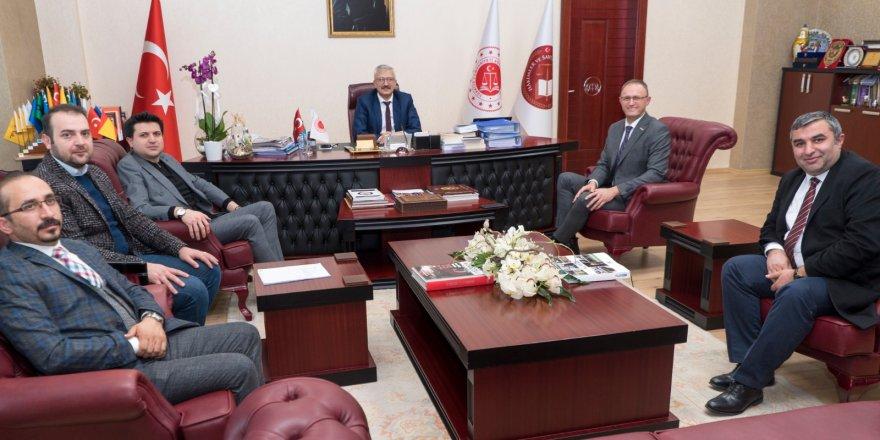 Başkan Sinacı'dan Solmaz'a ziyaret