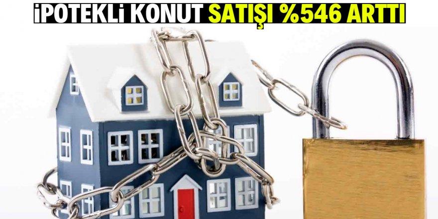 TÜİK: İpotekli satışlar yüzde 546 arttı