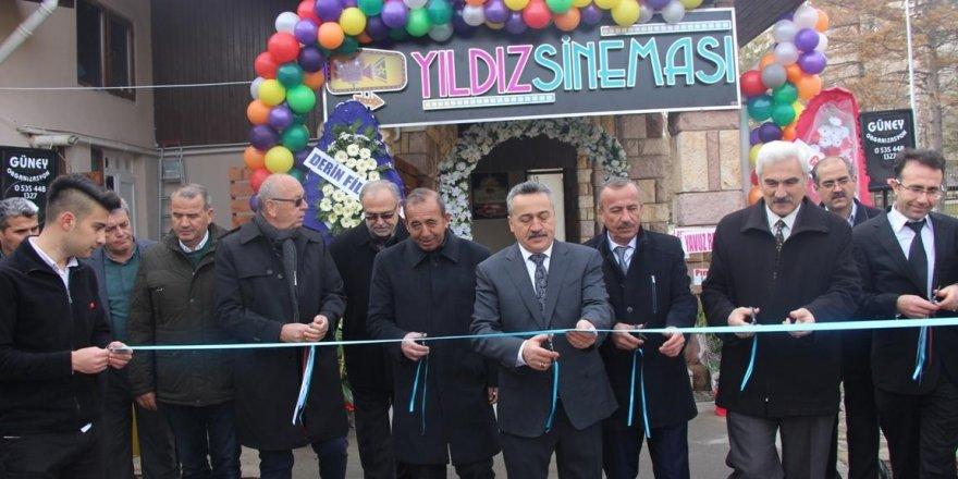 Seydişehir halkı  sinemaya kavuştu