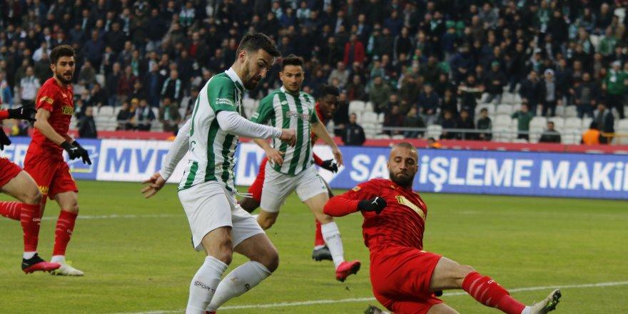 Konyaspor  'Ateş'e düştü