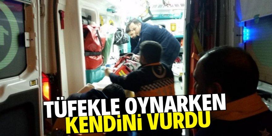 Konya'da bir kişi kendini vurdu!