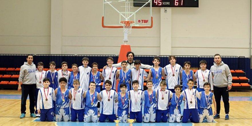 Basketbolun küçük şampiyonları belli oldu