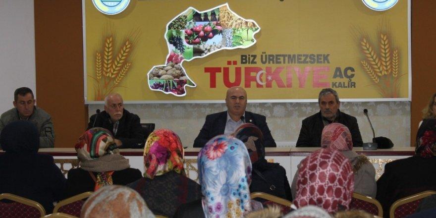 Karaman'da hasarları önlemek için elmaları sertifikalı işçiler toplayacak
