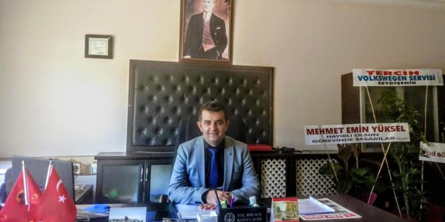 Halil Durmuş Bozkır'a  müdür olarak atandı
