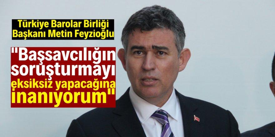 Metin Feyzioğlu'ndan Kadir Şeker açıklaması