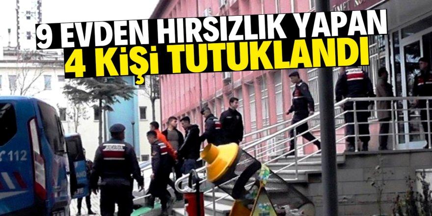 Konya'da hırsızlık suçundan 4 kişi tutuklandı
