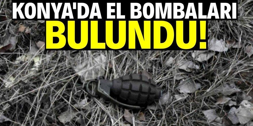 Konya'da bulunan bombalar korkuttu!
