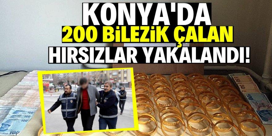 Konya'da pompalı tüfekle kuyumcu soyan iki şüpheli yakalandı