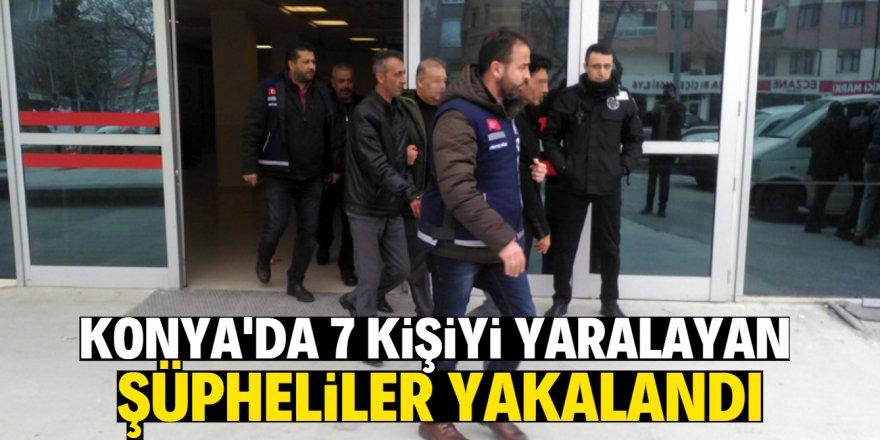 Hesap kavgasında 7 kişiyi yaralayan şüpheliler yakalandı