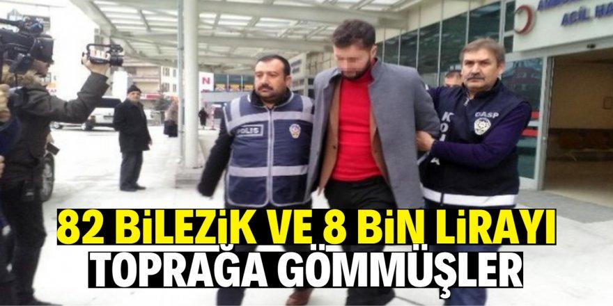 Konya'da pompalı tüfekle kuyumcu soyan 2 şüpheli tutuklandı